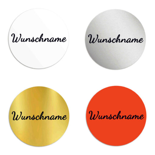 Aufkleber Namen, personalisiert
