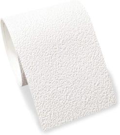 Bordüre selbstklebend weiß mit Struktur