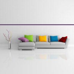 Bordüre violett