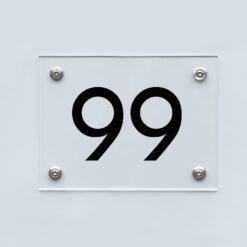 Hausnummernschilder
