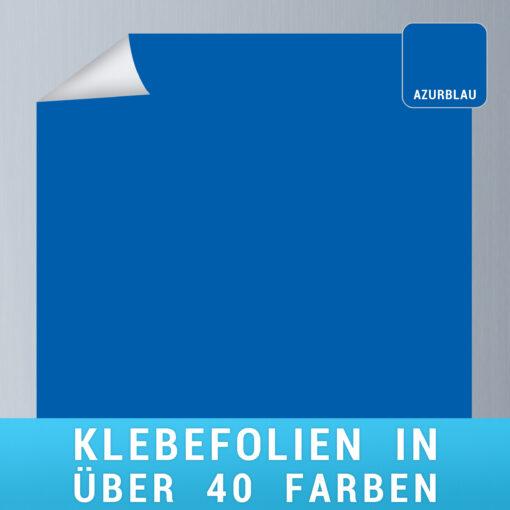 Klebefolie azurblau