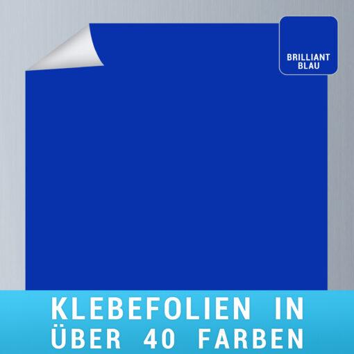 Klebefolie brilliantblau