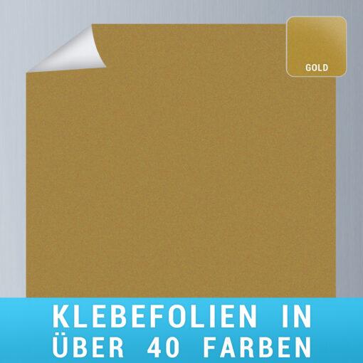 Klebefolie gold