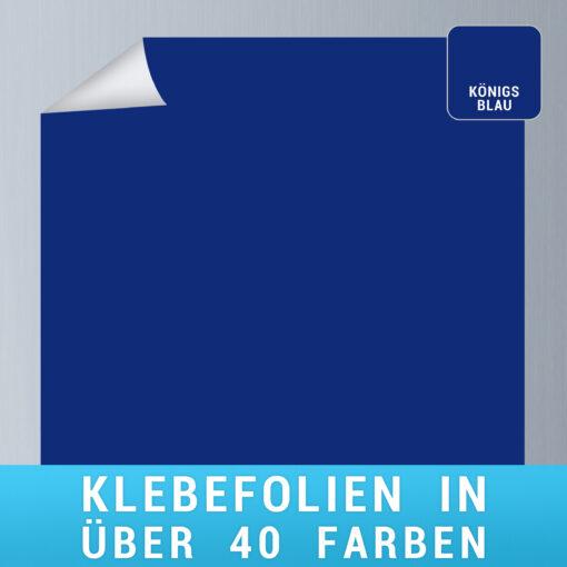 Klebefolie koenigsblau
