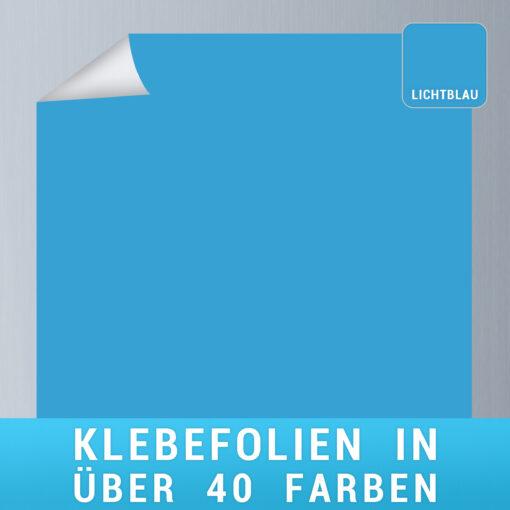 Klebefolie lichtblau