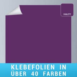Klebefolie violett
