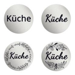 Küche Schilder