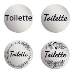 Toilette Schilder